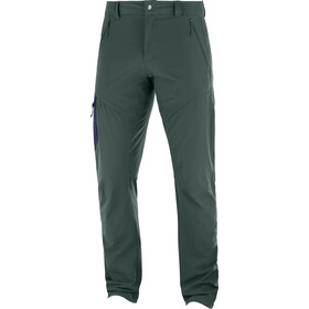 Salomon Wayfarer Tapered Pantalones Hombre, green gab
